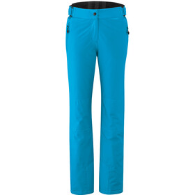 Maier Sports Vroni Slim Pantalon Stretch mTex Femme, hawaiian ocean